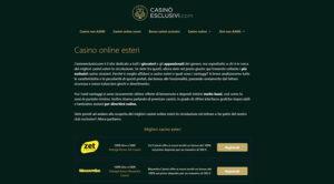 Recensione casinoesclusivi.com