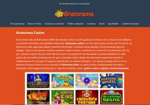 Recensione gratoramamobilecasino.com